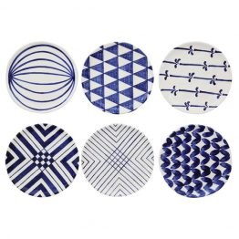 Blue & white pattern plate