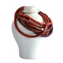 Bunja Red African Beads