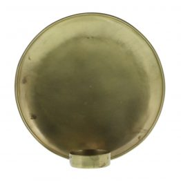 Brass tealight wall sconce