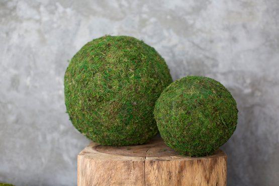 Green Moss Sphere
