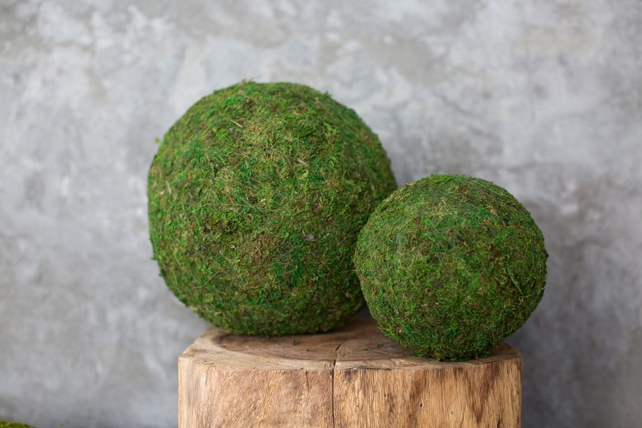 Green Moss Sphere
