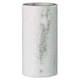 White Marble Cylinder Vase