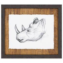 Rhino Sketch Art