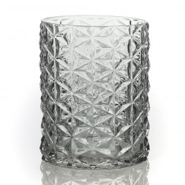"5.75"" Wickford Geometric Glass Vase"
