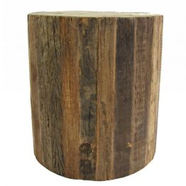 Elmont Rolling Wood Stool