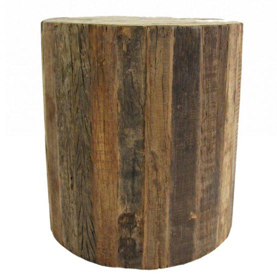 Elmont Rolling Wood Stool