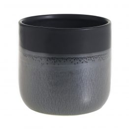 Rigby Black Ceramic Glazed Pot