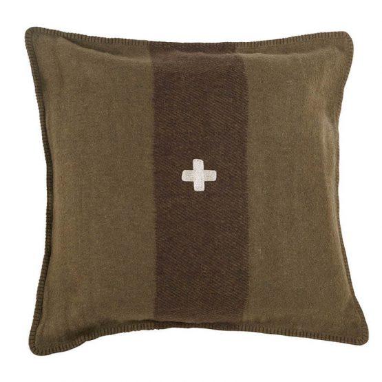 Green Swiss Army Pillow