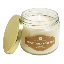 Hillhouse Naturals Apple Cider Bourbon scented fall candle