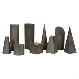 Zinc Geometric Figures