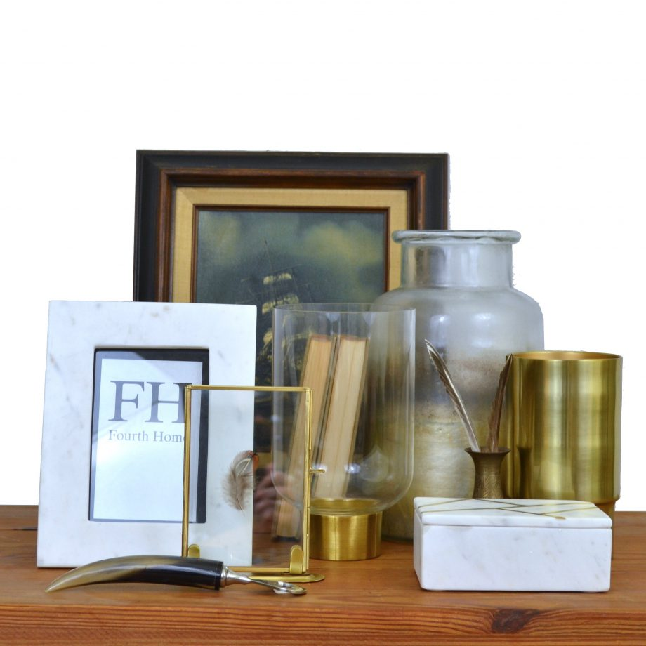 Fourth Home Brass and Marble Collection