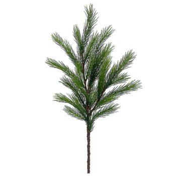 Faux Green Spruce Pine Spray