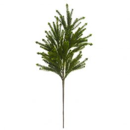 Faux weeping pine spray