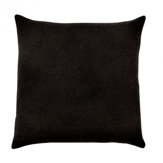22-inch Black Throw Pillow