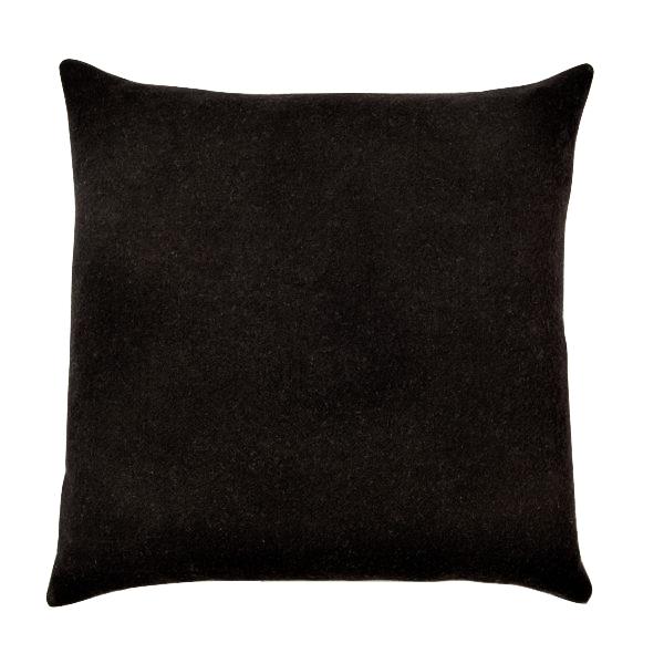 22-inch Black Throw Pillow