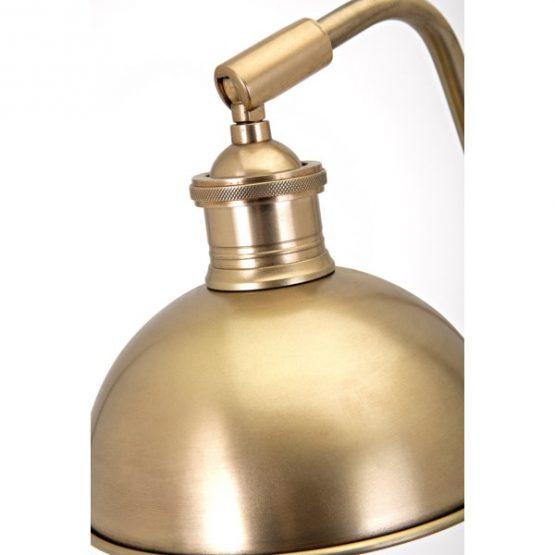 Brass Mid-Century Desk Lamp