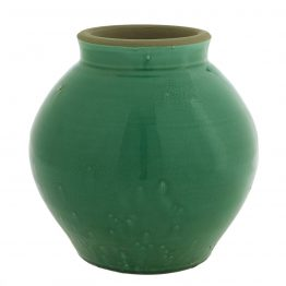 Emerald Green Terracotta Vase