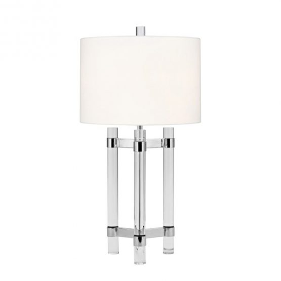 Three Leg Tripod Crystal Table Lamp