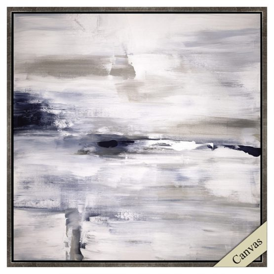 Black brown and gray abstract art