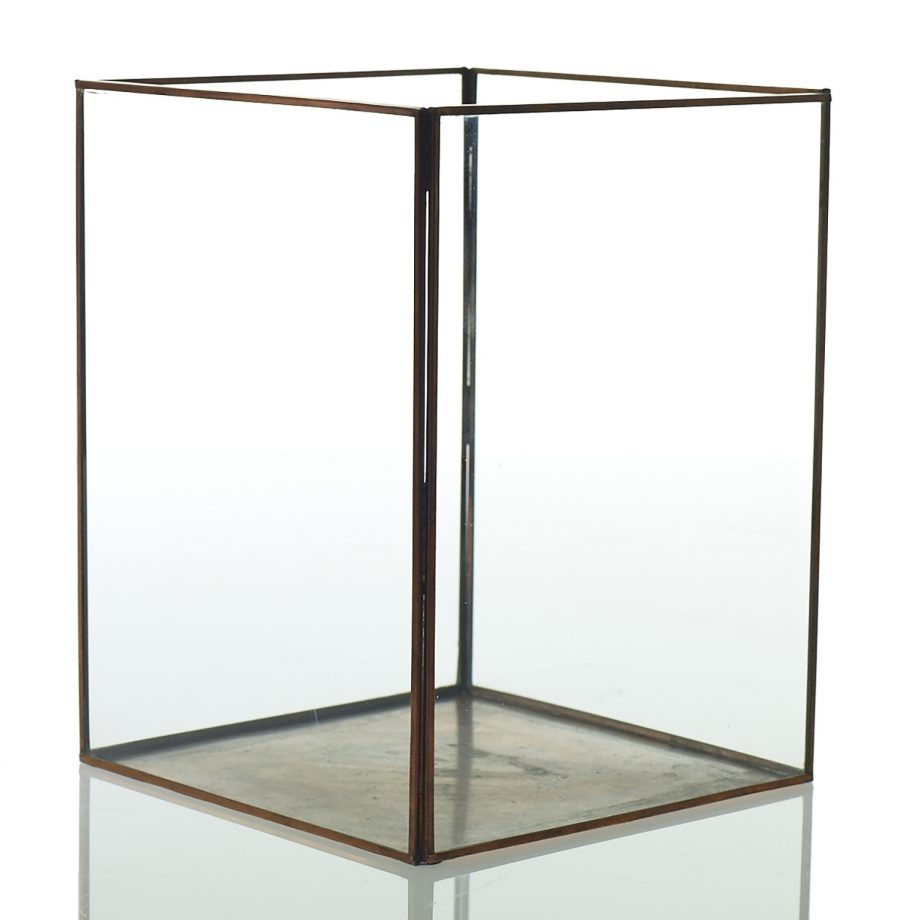 Metal and Glass Display Box
