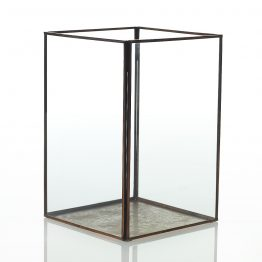Metal and Glass Display Box