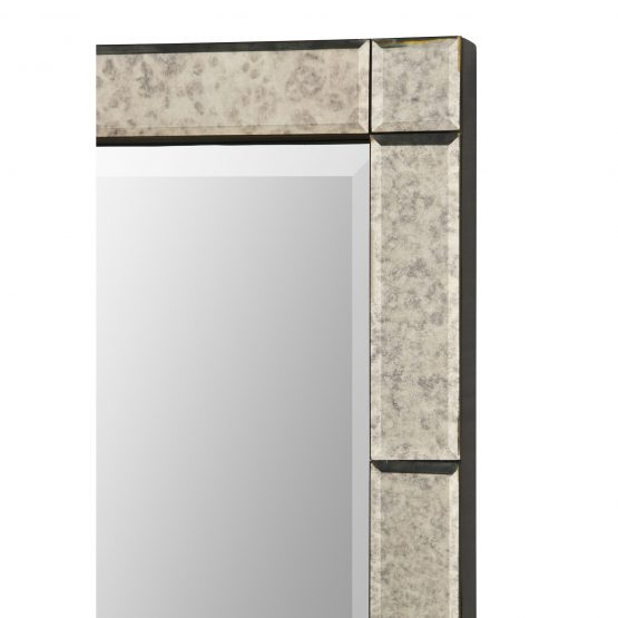Silver Mirror Mercury Glass Mirror Border
