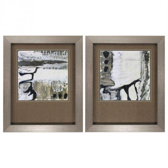 Thames Black White Contemporary Art