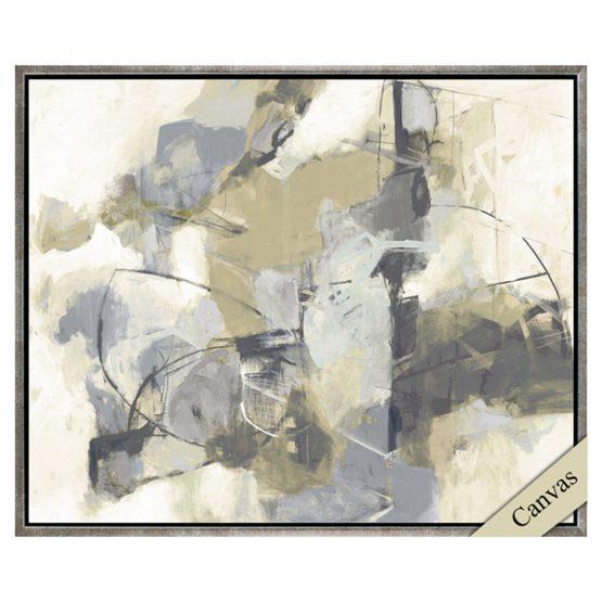 Violet Daze Abstract Art