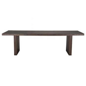 Espresso Dark Wood Dining Table