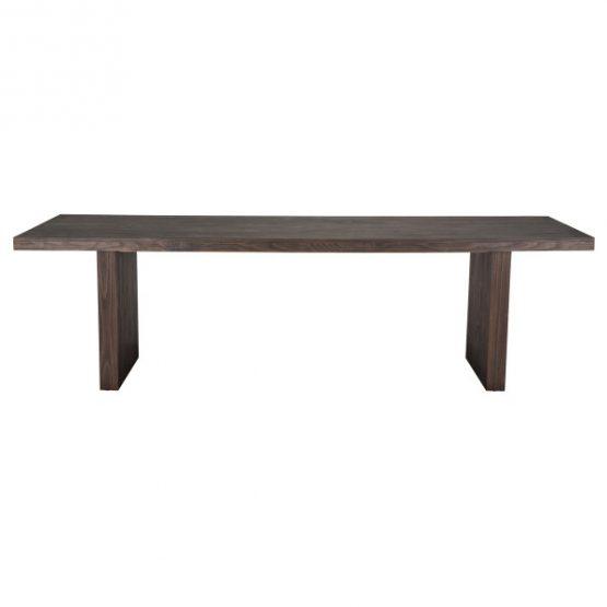 Espresso Dark Wood Dining Table
