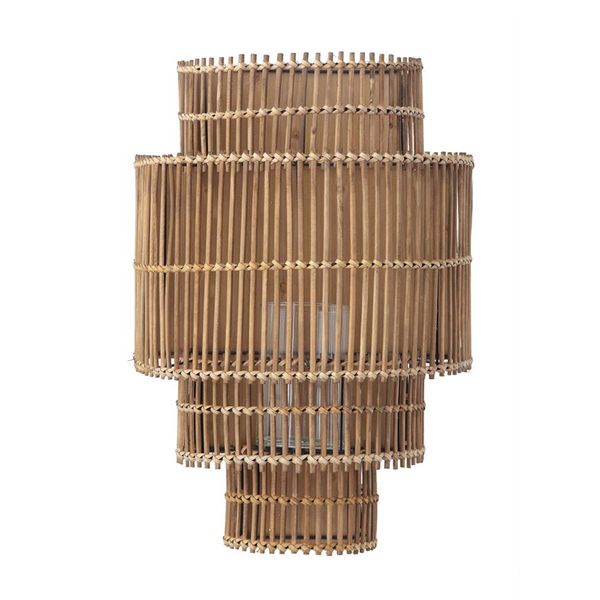 quality design ce624 f9a50 Bamboo Candle Wall Sconce