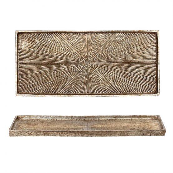 Embossed Decorative Aluminum Tray