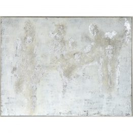 Gray Textured Abstract Art