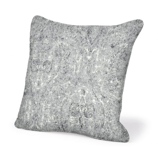 Black White And Silver Throw Pillow