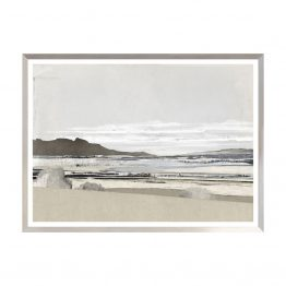 Contemporary Monochromatic Coastal Landscape Art