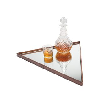 Triangle Mirror Tray