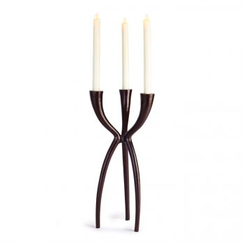 Contemporary Triad Taper Candle Holder