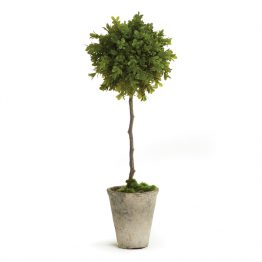 Faux Boxwood Topiary Single