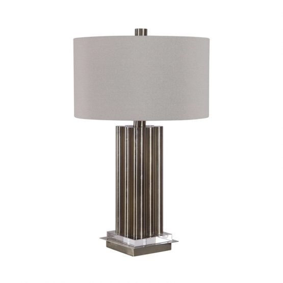 Brass Dowel Table Lamp