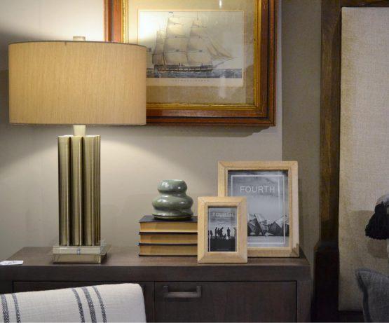 Dowel Lamp Bedside