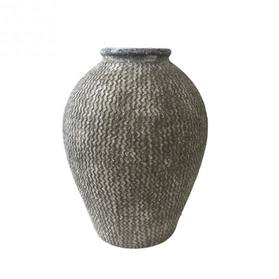 Natural Textured Terracotta Urn