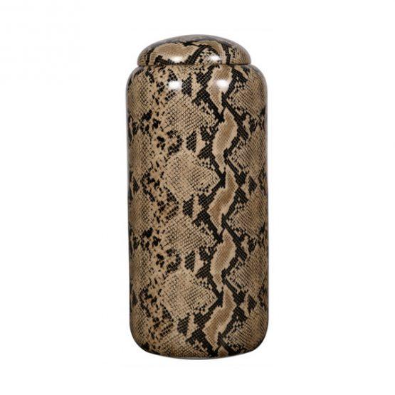 Snakeskin Ceramic Jar