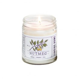 Finding Home Farms Nutmeg Candle with White Lid