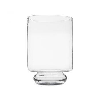Glass Vase On Bulb Base