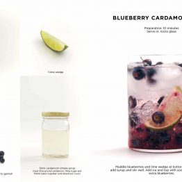 Mocktails Book By Caroline Hwang Blueberry Cardamom Smash