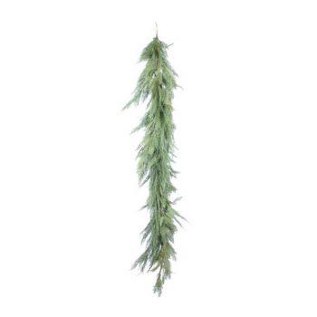 Green Mixed Pine Garland