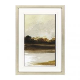 Muted Contemporary Landscape Watercolor Art