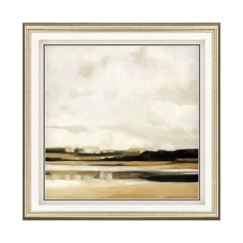 Muted Contemporary Mudflat Art