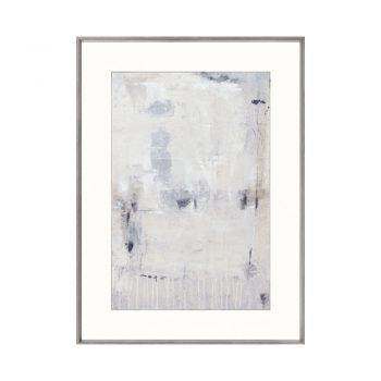 gray and white washed out art