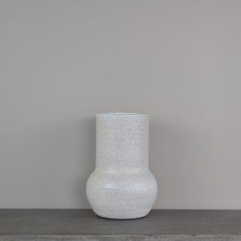 Gray Glazed Terra-Cotta Vase